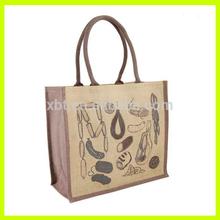 Vegetables Jute Bag For Food Tote