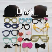 New Product Idea! Wedding photo booth kits frame photo