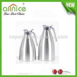 double wall vacuum coffee pot/stainless steel water jug/sanding coffee flask
