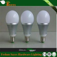 Guangdong manufacture b22 led lamp bulb 5w 220v with plastic shell