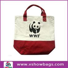 high quality long strap beach tote bag large canvas beach tote bag