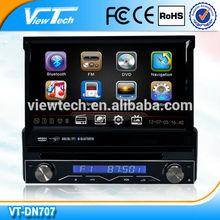 7'' Smart retractable HD 800*480 Touch Screen Car DVD/GPS supplier