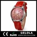 Mais recente moda feminina relógios, mulheres moda relógio mão, marca de quartzo relógio suíço