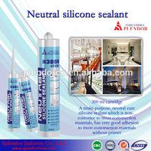 Neutral Silicone Sealant china supplier/ silicone sealant materials use for furniture/ pipe silicone sealant adhesives