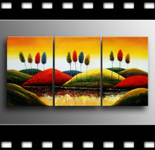 framed oil canvas with OEM accepted