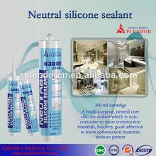 Neutral Silicone Sealant china supplier/ silicone sealant materials use for furniture/ fire retardant silicone sealant