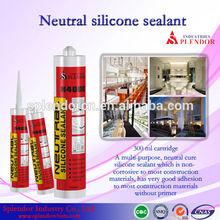 Neutral Silicone Sealant china supplier/ silicone sealant materials use for furniture/ curtain wall silicone sealant