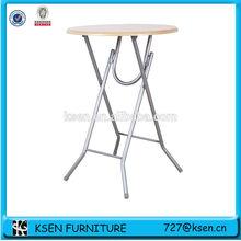 folding outdoor high top bar tables KC-7539TM