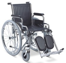 Steel manual wheelchairs for handicapped patient W001