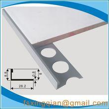 bathroom ceramic tile trim for tile protection