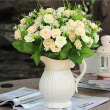 2014 hot sale artificial flower rose bud.giant inflatable flower decoration,cheap artificial flower(AM-881444)