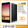 Android Smart Dual Sim Mobile Phone Digital 3G Dual Camera Mobile