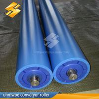 UHMW-PE Belt conveyor plastic transition idlers