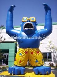 inflatable King Kong/ customized inflatable King Kong for event/ inflatable advertising King Kong balloon