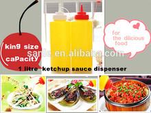 1 litre ketchup mustard dispenser