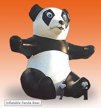 inflatable panda/ customized inflatable panda for event/ inflatable advertising panda balloon