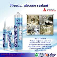 Neutral Silicone Sealant/ household silicone sealant materials use for furniture/ acid cure rtv silicone sealant