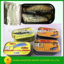 125G Sardine Vegetable oil
