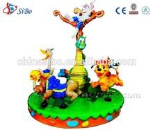 GMKP-53 SiBo animal world Merry-go-around/ amusement park ride manufacturer