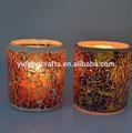 recipientes de vidro para velas de casamento decoração de mesa