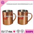 taza de cobre