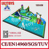 high quality removable water park/ water toys space/ inflatable playground