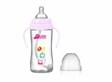 the best wide neck auto PP baby feeding bottle 300ml cute baby milk bottle manufacturing