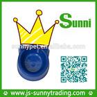 [Sunni]Hot sale plastic customized automatic magnetic rectangular bamboo pet bowl(good material)