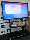 ten users writing interactive whiteboard smart board