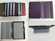 Stand Design Four Fold Leather Smart Case for Samsung Galaxy Tab 10.1 P7500 P7510
