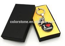 """Love Vienna"" Pair Keychain Alloy Keyring Lovers Gift Cheap gift zinc alloy love keychain"