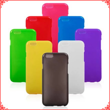 Hot Selling Ultra Thin TPU Case for iPhone 6 Cases Various Color