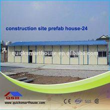 modular earthquake prefabricated luxury QSH woode villa