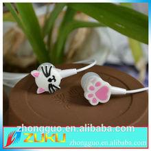 top sale in ear cartoon earphone /headphone