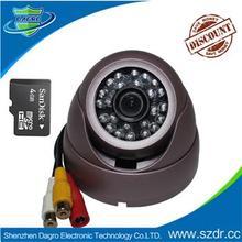 Low Price Mini Digital CCTV Camera with Memory Card 1000tvl cctv camera