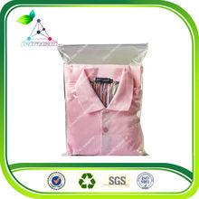 2014 fashion ziplock t-shirt plastic packaging bag