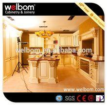 2013 WELBOM Hot Sale Kitchen Cabinet Color Schemes