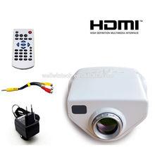 E03 VGA HDMI 1080P Mini Home Theater LED/LCD Projector 50 Lumens HDTV