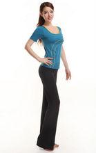 2014 Top Popular Women T-shirt Top and Pants Gym Wear Fitness Wear Yoga Wear