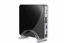 Intel atom mini pc sottile con wifi e hdmi supporto 1080p 2*usb2. 0,1*com Port, vga, d2550 1,86 GHz hdmi