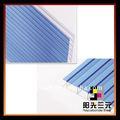 Uv protegidas de hoja de policarbonato/de policarbonato hoja de suelo/4mm 6mm 8mm azul teñido hoja de policarbonato