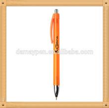 retractable orange ball point pen on sale