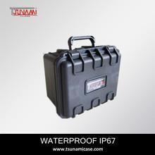 waterproof case No.231815 Factory price high end Plastic hard gun case with foam