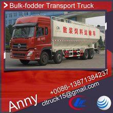 bulk corn transport truck 20m3,farming grain loading truck,dongfeng bulk feed truck