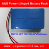 rechargeable 7365132 4S1P lifepo4 12v battery pack 5ah for power tools