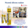 Neutral Silicone Sealant/ silicone sealant distributors/ rtv silicone sealant high temperature