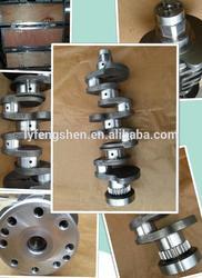 casting stainless steel crankshaft 5282791 for Foton cummins ISF2.8