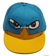 OEM adjustable flat brim kids baby baseball snapback caps hat
