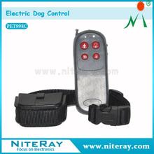 Wholesale leather dog collars no bark dog beeper hunting