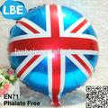 china fábrica de balões de mylar com bandeira